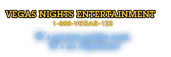 Vegas Nights Entertainment Header